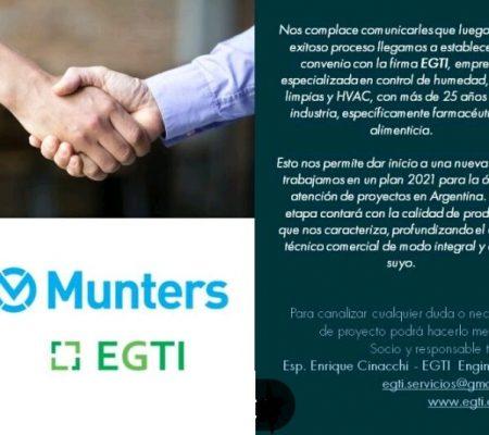 Acuerdo Munters Egti